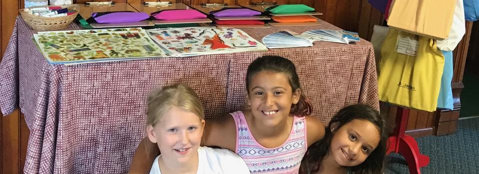 Girls Scout Earns Bronze Award