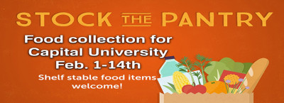 Food Drive for Capital University