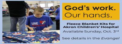 God's Work.Our Hands Fleece Blankets