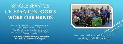 God's Work Our Hands Single Service