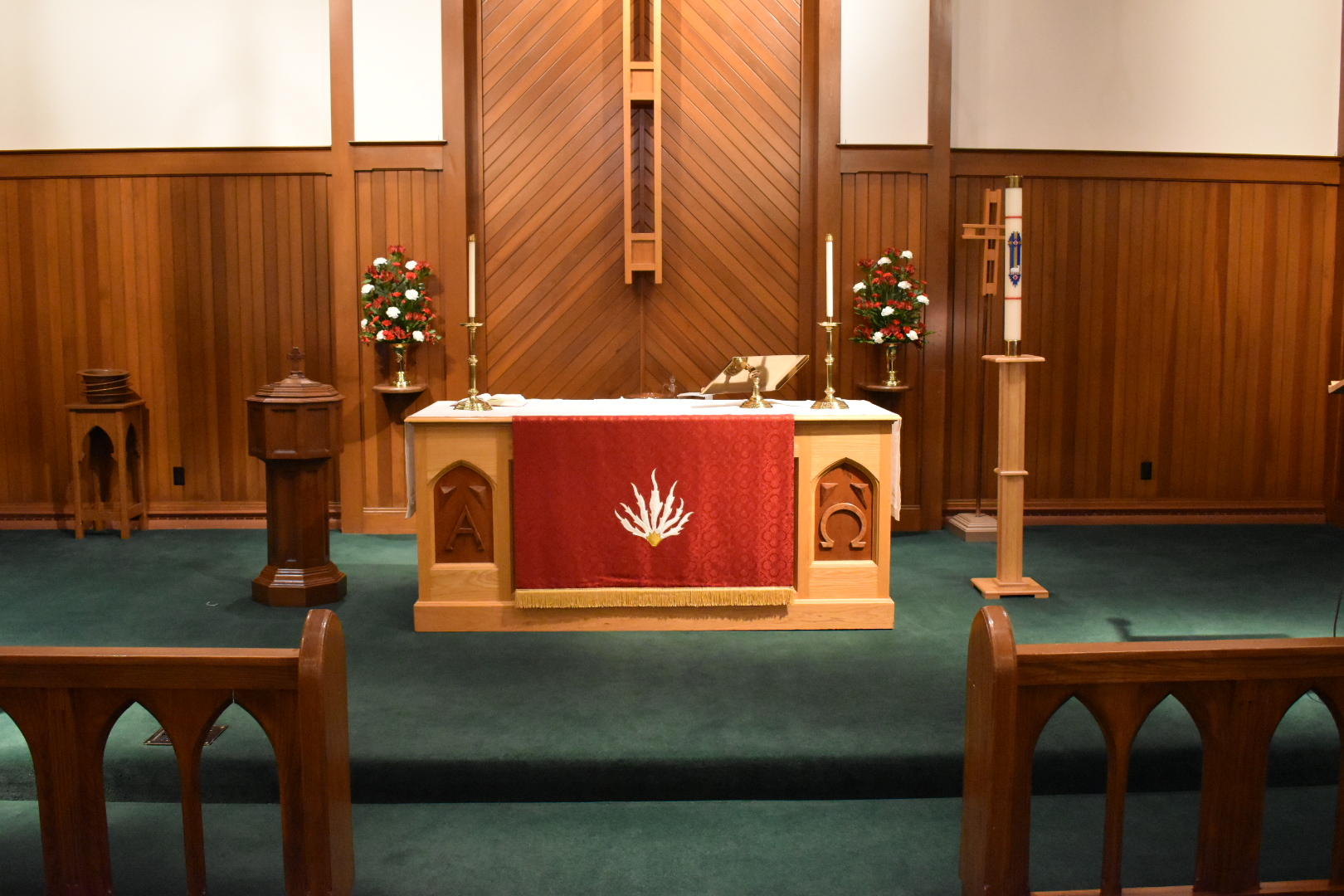 Alter in the Sanctuary