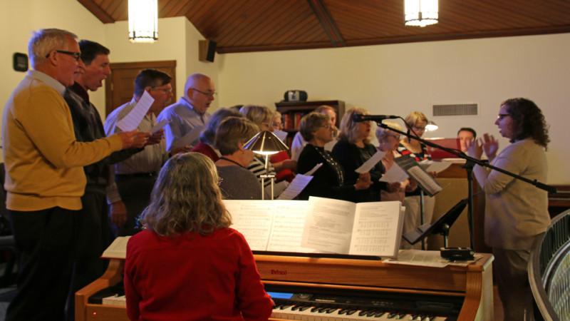 The Joyful Noise Choir, directed by Dan Nauss.